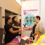 Helpline Project booth at 4WCWS
